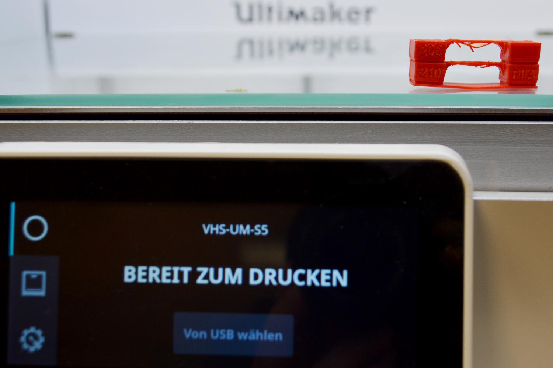 Ultimaker S5: Bereit zum Drucken