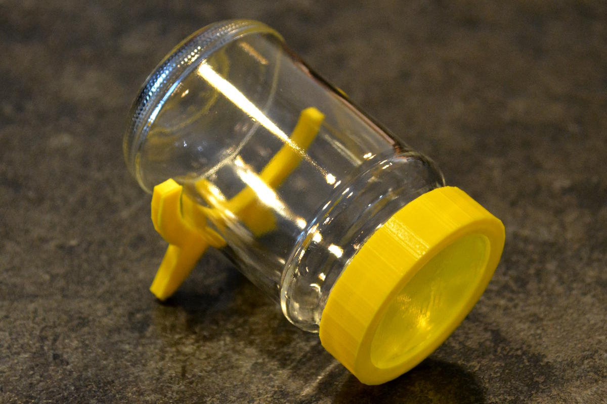 Sprossenzucht-Glas mit Deckel & Standfuß