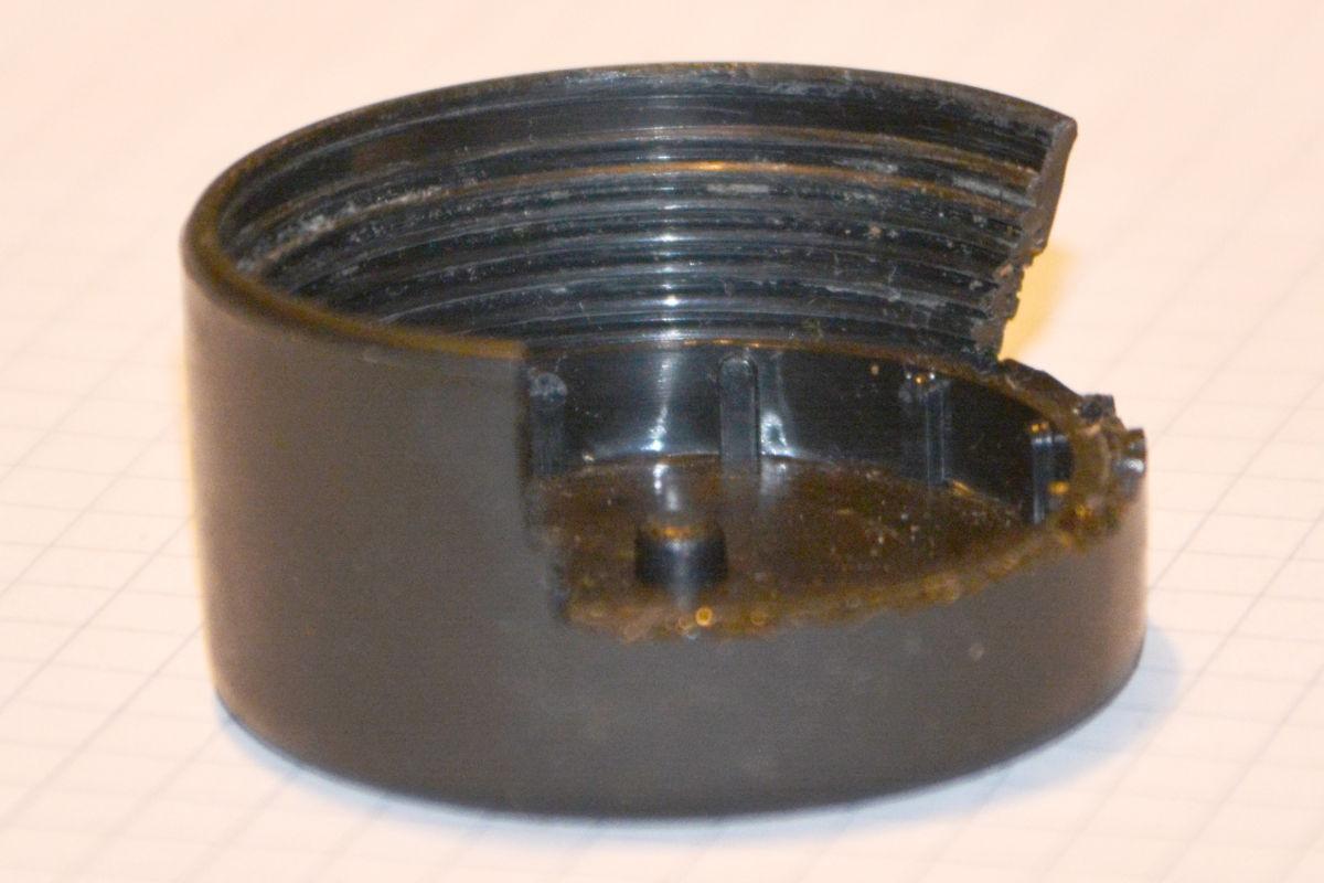 Batteriefach Schraubverluss Taschenlampe